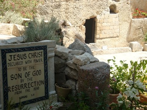 Easter/ Good Friday Program- a very special tour of the Garden Tomb live in Israel