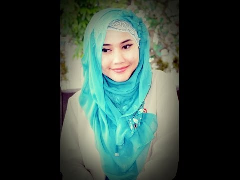 Tutorial Hijab Paris | Lacy Hijab | Girly Look | Running Ramadhan 2013 by Didowardah - Part #19