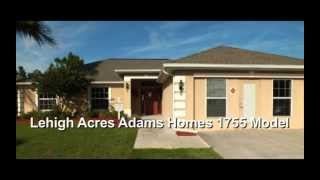 Adams Homes | Lehigh Acres, FL | 1,755 sq ft Model | www.AdamsHomes.com