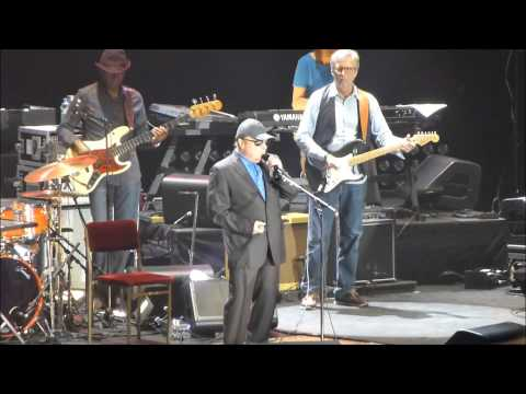 Eric Clapton and Van Morrison (with Paul Carrack) - Help Me - Live in Belfast