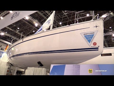 2018 Bavaria Cruiser 34 Sailing Yacht - Walkaround - 2018 Boot Dusseldorf Boat Show
