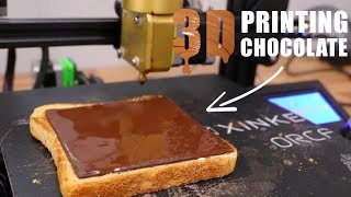 3D Printer Makes the Perfect Chocolate Layer