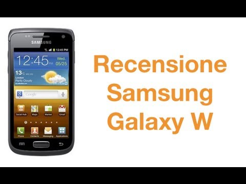 Samsung Galaxy W. la recensione in italiano by AndroidWorld.it