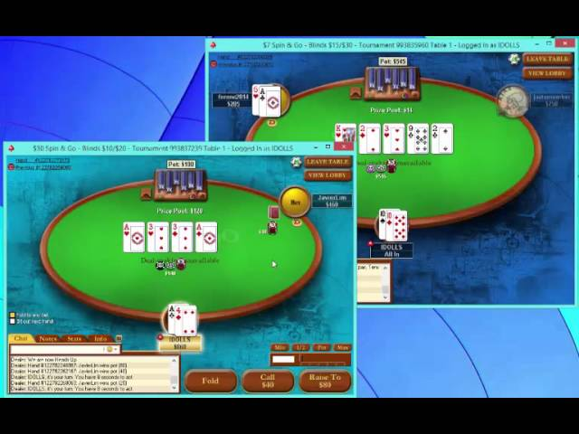 Spin & Go with Stavros | PokerStars