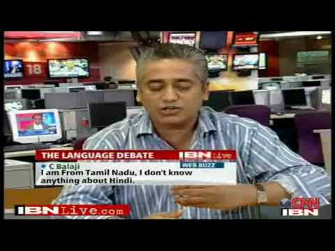 FACE THE NATION :: 4/7 :: Diversity Not Hindi That Unites India