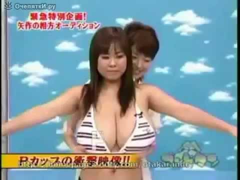 Очень большая грудь у японки