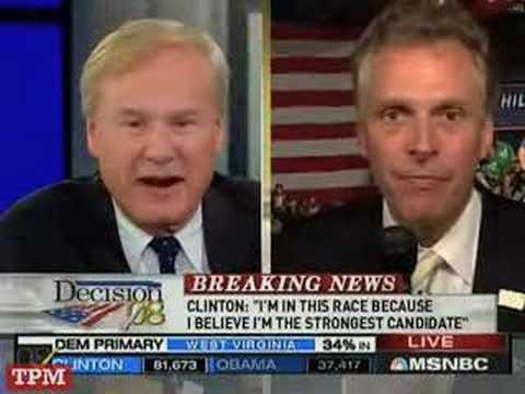 Terry McAuliffe: Clintonites Never Say Die!!!