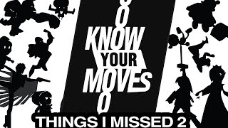 30 THINGS I MISSED in Know Your Moves! (Super Smash Brothers)