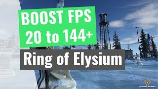Ring of Elysium : How to BOOST FPS and performance on any PC!