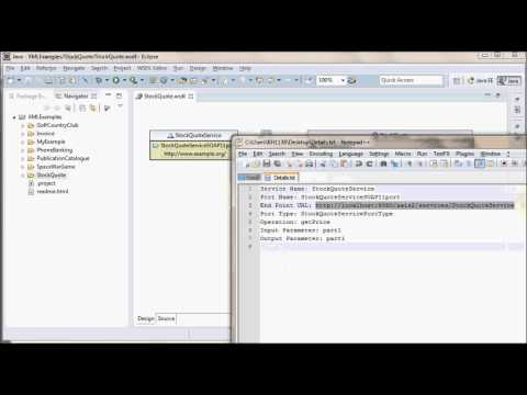 how to create webservice client using wsdl file in eclipse