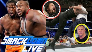 WWE Smackdown Live 21st MAY 2019 Full Highlights Preview : Roman Reigns Vs Elias, Big E Return