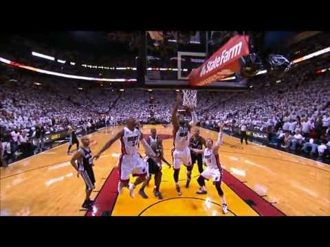 Tony Parker's AMAZING Game 1 buzzer-beater from all angles!