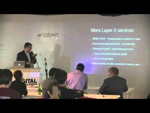 "SODM15: Keynote Presentation - ""The Future of Bitcoin"" - Jeff Garzik"
