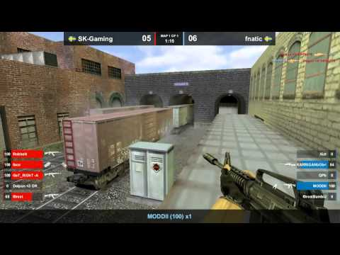 CS 1.6 FCL 2012 - SK-Gaming vs. fnatic @ train