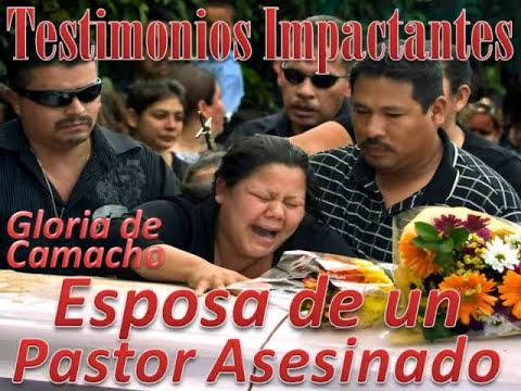 Esposa de un Pastor Asesinado, Gloria de Camacho, Spanish -1/1