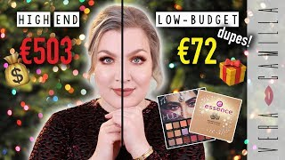 HIGH END VS LOW-BUDGET DUPES MAKE-UP: FEESTELIJK | Vera Camilla