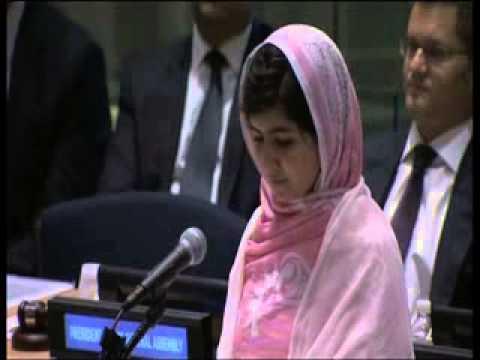 Malala Yousafzai speech at the United Nations -- July 12, 2013 (UN Web TV)