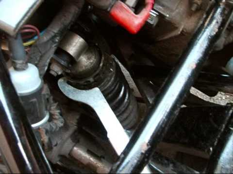Yamaha Road Warrior  Motorcycle Valve Adjustment Youtube
