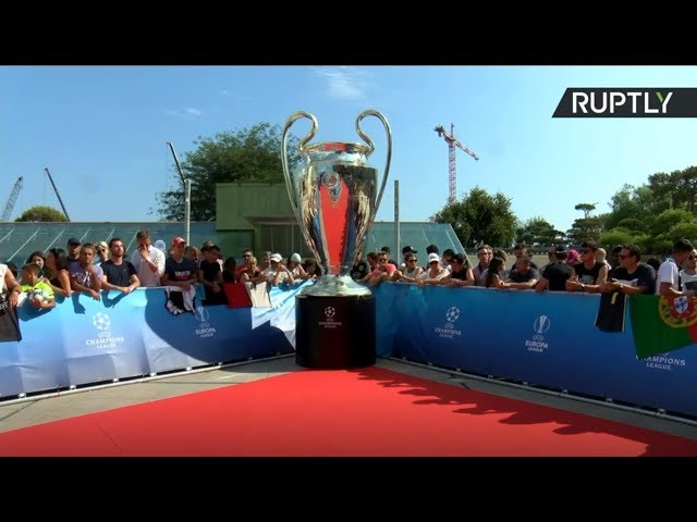 UEFA Champions League 201920 draw red carpet