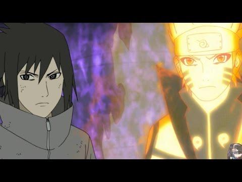 Naruto Shippuden Episode 383 ナルト 疾風伝 Anime Review -- Naruto & Sasuke Vs Ten Tails Jinchuuriki Obito video