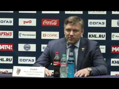 Сочи – Витязь. Пресс-конференция тренеров