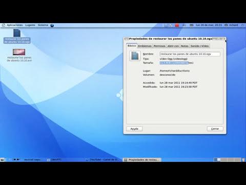 comprimir videos en ubuntu 11.04 y 10.10 (bajar el peso al video)