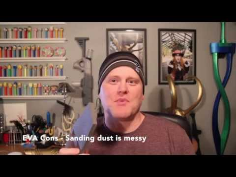 Worbla vs EVA Foam for Cosplay Crafting Armor Building