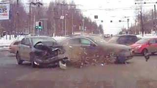 Russian Car crash compilation March 2016 week 2 Autounfälle  in Russland  woche 2 März 2016