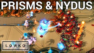 StarCraft 2: WARP PRISMS & NYDUS WORMS! (Zest vs soO)