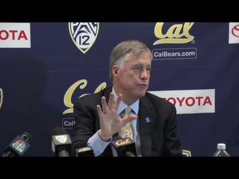 Cal Men's Basketball: Coach Montgomery (Arizona Post Game 02/01/14)