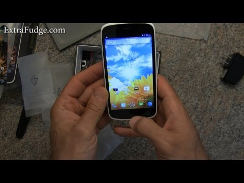 BLU Life Play Unlocked Dual Sim Phone with Quad-Core 1.2GHz Processor Unboxing