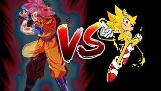 Sonic vs Goku 1/2 Sprite Animation