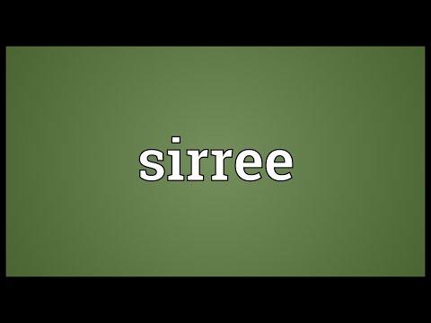 Header of sirree