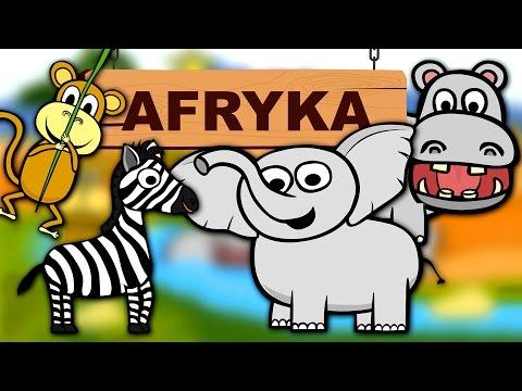 Zwierzęta Dla Dzieci - Zwierzęta W Afryce - Odgłosy Zwierząt | CzyWieszJak