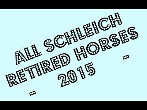 Retired Schleich Horses