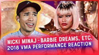 NICKI MINAJ 2018 VMA PERFORMANCE REACTION // RWRG