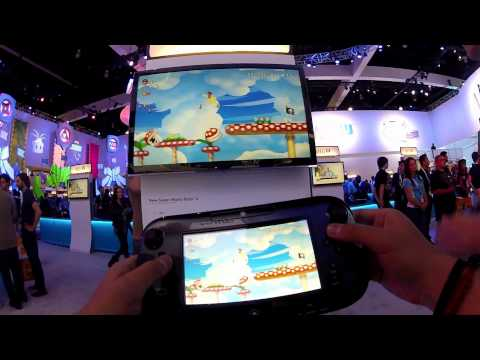 Wii U: New Super Mario Bros. U Demo (@PxDxI)