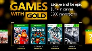 Xbox - October 2016 Games with Gold
