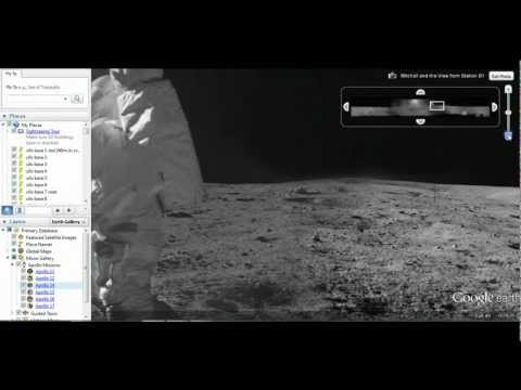 alien moon-analysis 2 E.T objects pictured near Edgar Mitchell Apollo 14