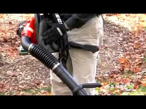 Operation of a Gas Leaf Blower