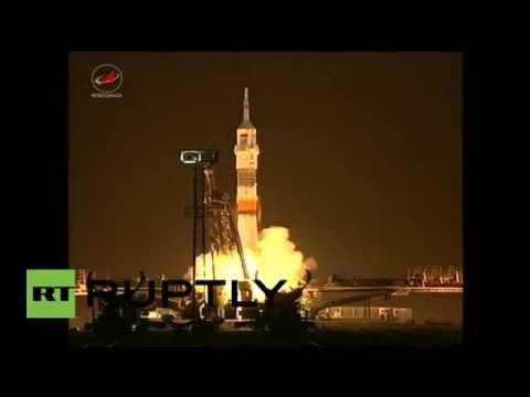 La nave Soyuz sale al espacio desde Baikonur en dirección hacia la EEI