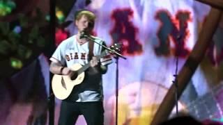 """Download Lagu Ed Sheeran """"Sing ~ Shape of You"""" 13.4.2018 LIVE IN JAPAN Tokyo Nippon Budokan エド・シーラン Gratis STAFABAND"""