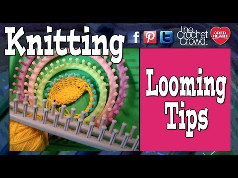 Loom Knitting Knifty Knitter<br /> <br /> Many patterns as seen on our YouTube Channel can be found on The Croch