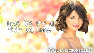 Selena Gomez & The Scene - Live Like There's No Tomorrow