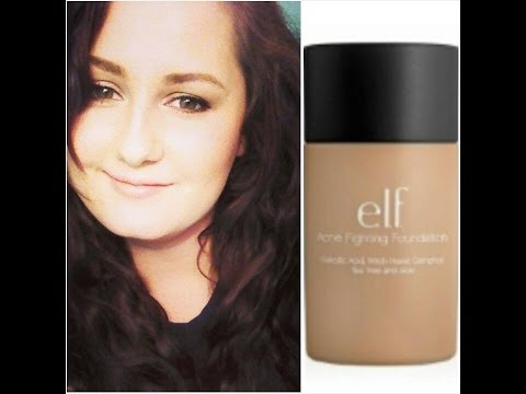 DETAILED REVIEW:  Elf acne fighting foundation