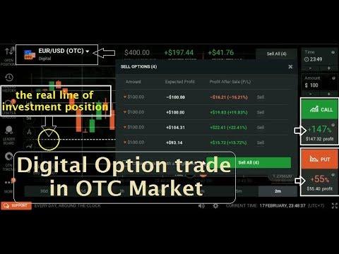 IQ OPTION OTC DIGITAL-How to trade Digital in OTC Market   99% profit is more simple-binary option