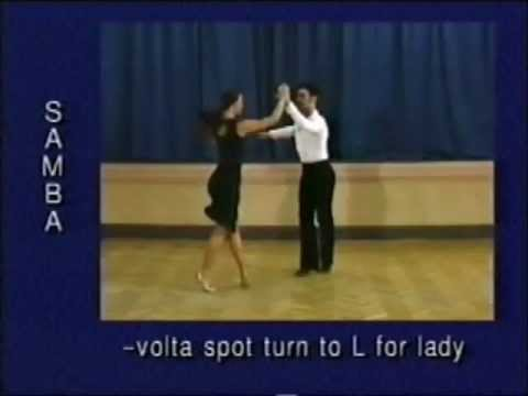 how to dance samba step by step