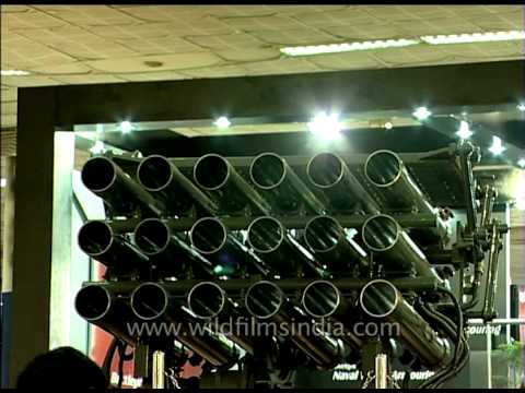 Multi barrel rocket launcher in India