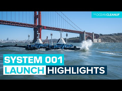 The Ocean Cleanup System 001 Launch - Live Highlights
