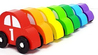 Teach Toddlers Colors and Counting with Sorting Toy Cars!
